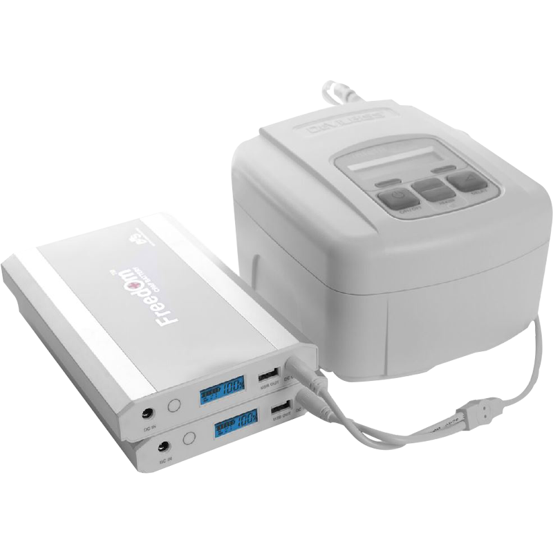 Battery Power Solutions Freedom Cpap Battery Kit For Respironics Dreamstation By Battery Power